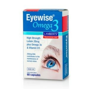 Ωμέγα 3-6-9 Lamberts – Φόρμουλα για την Καλή Υγεία των Ματιών με Ιχθυέλαιο Λουτεΐνη & Ζεαξανθίνη 60 caps