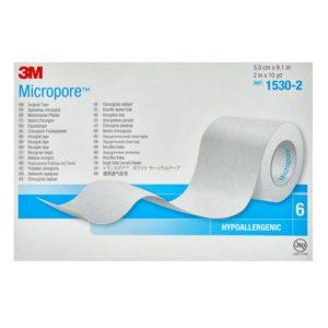 ΕΠΙΔΕΣΜΙΚΟ ΥΛΙΚΟ 3M – Micropore Xάρτινη Tαινία Στερέωσης 5 cm x 9.1 m 1τμχ REF 1530-2