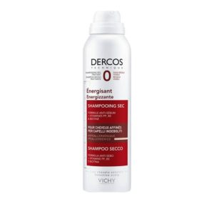 Σαμπουάν Vichy – Dercos Energissant Dry Shampoo Δυναμωτικό Ξηρό Σαμπουάν για Μαλλιά με Τριχόπτωση 150ml