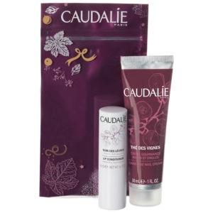 Χείλη Caudalie – Promo The Des Vignes Κρέμα για Χέρια και Νύχια 30ml & Conditioner για τα Χείλια 4,5gr