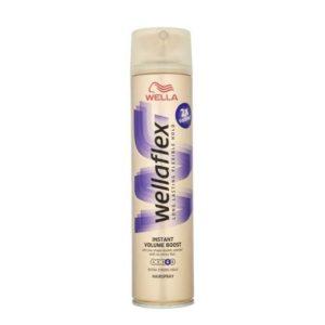 Γυναίκα Wellaflex – Hairspray Νούμερο 4 για Ενίσχυση Όγκου 250ml