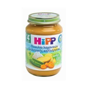 Διατροφή Βρέφους Hipp – Βρεφικό Γεύμα Μεσογιακών Λαχανικών μετά τον 4ο Μήνα 190gr