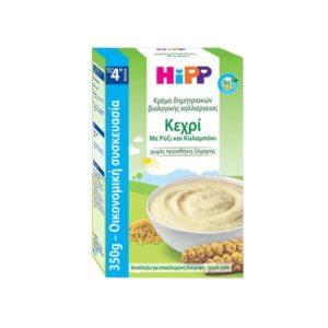 Διατροφή Βρέφους Hipp – Βρεφική Κρέμα Κεχρί 4Μ+ 350g