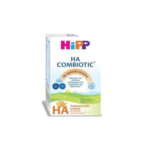 Διατροφή Βρέφους Hipp HA Combiotic Υποαλλεργικό Γάλα για Βρέφη 600gr