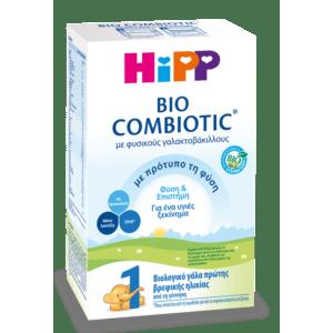 Διατροφή Βρέφους Hipp Bio Combiotic Pre 1 Βιολογικό Γάλα Πρώτης Βρεφικής Ηλικίας (Από τη Γέννηση) 600g (Νέα Φόρμουλα)