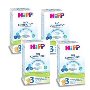 Infant Nutrition Hipp – Bio Combiotic No3 12Months+ 4x600gr