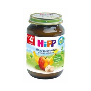 Διατροφή Βρέφους Hipp – Βρεφική Φρουτόκρεμα Μήλο-Μπανάνα από τον 4ο Μήνα 190gr
