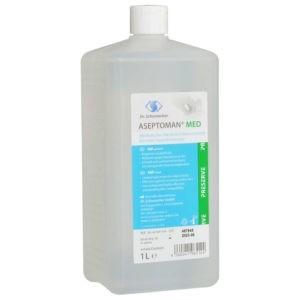 => STOP COVID-19 Dr.Schumacher – Aseptoman Med Preserve Αλκοολούχο Υγρό Απολυμαντικό Χεριών 1000ml REF. 00-457OP-010EXP