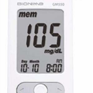 ΕΙΔΙΚΑ ΔΙΑΓΝΩΣΤΙΚΑ Bionime – GM550 Σύστημα Μέτρησης Γλυκόζης Αίματος