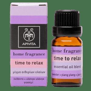 Άγχος - Στρες - Χαλάρωση Apivita – Μίγμα Αιθέριων Ελαίων με Λεβάντα και Υλάνγκ Υλάνγκ για Χαλάρωση 10ml