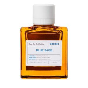 Αποσμητικά-Άνδρας Korres – Eau de Toilette Blue Sage Lime Grapefruit Mint Ανδρικό Αρωμα 50ml