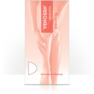 Κάτω Άκρο Venosan Fashion – Κάλτσες Διαβαθμισμένης Συμπίεσης Ριζομηρίου Κλάση I Μέγεθος Medium Κλειστά Δάχτυλα Μπέζ