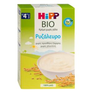 Μαμά - Παιδί Hipp – Bio Βρεφική Κρέμα Ρυζάλευρο από τον 4ο μήνα 200gr