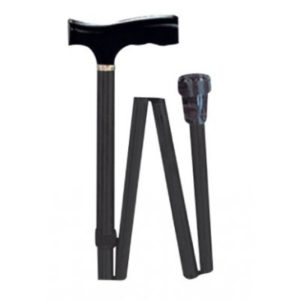Μπαστούνια Alfacare – Μπαστούνι Πτυσσόμενο Μαύρο AC844