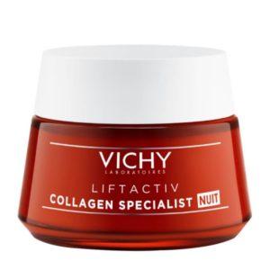 Γυναίκα Vichy – Liftactiv Collagen Specialist Night Αντιγηραντική Νυκτός 50ml