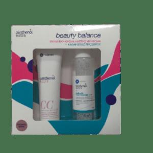 Περιποίηση Προσώπου Medisei – Promo Panthenol Extra Beauty Balance CC Day Cream SPF15 Ενυδατική Κρέμα Ημέρας με Χρώμα Σκούρο Dark και Micellar True Cleanser Καθαριστικό Προσώπου 3 σε 1 1τμχ