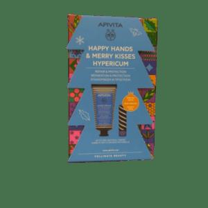 Περιποίηση Προσώπου Apivita -Promo Κρέμα Χεριών για Ξηρά-Σκασμένα Χέρια Βάλσαμο και Μελισσοκέρι 50ml και Special Price Lip Βούτυρο Κακάο SPF20