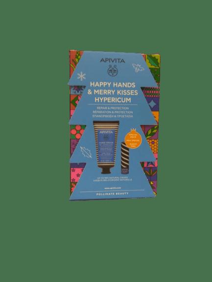 Γυναίκα Apivita -Promo Κρέμα Χεριών για Ξηρά-Σκασμένα Χέρια Βάλσαμο και Μελισσοκέρι 50ml και Special Price Lip Βούτυρο Κακάο SPF20