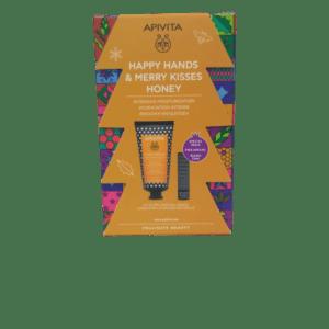 Γυναίκα Apivita – Promo Κρέμα Χεριών Εντατικής Ενυδατική Υαλουργικό Οξύ και Μέλι και Special Price Lip Care Πρόπολη