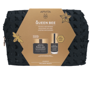 Περιποίηση Προσώπου Apivita – Promo Queen Bee Κρέμα Ολιστικής Αντιγύρανσης Πλούσιας Υφής Ελλινικός Βασιλικός Πολτός σε Λιποσώματα 50ml και Δώρο Queen Bee Κρέμα Ματιών Ολιστικής Αντιγήρανσης Ελλινικός Βασιλικός Πολτός σε Λοιποσώματα 15ml