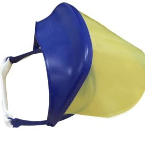 [category] GIMA – Ασπίδα Προστασίας Προσώπου με Ανάκλιση (Κίτρινο) 1τμχ Ref 25668