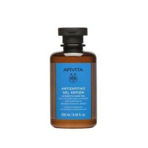 => STOP COVID-19 Apivita – Αντισηπτικό Gel Χεριών 250ml