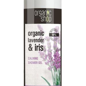 Αφρόλουτρα Natura Siberica – Organic shop Lavande De Provence lavender και Iris Shower Gel Βιολογική λεβάντα και Ίριδα Χαλαρωτικό Αφρόλουτρο 280ml