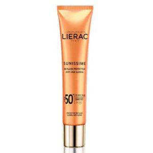Περιποίηση Προσώπου Lierac – Sunissime Protective Fluid Global Anti-Aging SPF 50+ Λεπτόρρευστη Αντηλιακή Κρέμα Προσώπου Ολικής Αντιγήρανσης 40ml