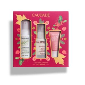 Περιποίηση Προσώπου Caudalie – Set Vinosource SOS Serum 30ml και ΔΩΡΟ Vinosource Creme Sorbet Hydratante 15ml και ΔΩΡΟ Mousse Nettoyante 50ml