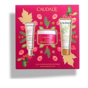 Περιποίηση Προσώπου Caudalie – Promo Vinosource SOS Intense Moisturizing Cream 50ml και Vinosource SOS Thirst Quenching Serum 15ml και Moisturizing Mask 15ml