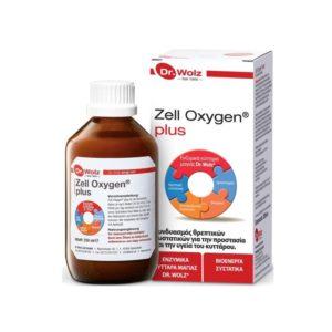 Βιταμίνες Power Health – Dr. Wolz Zell Oxygen Plus Βιοενεργό Συμπλήρωμα Διατροφής 250ml