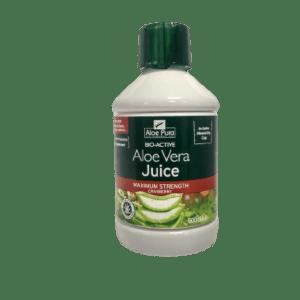 Αλόη Βέρα Optima – Aloe Pura Aloe Vera Juice with Cranberry 100% Φυσικός Χυμός Αλόης 500ml