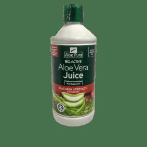 Αλόη Βέρα Optima – Aloe Pura Aloe Vera Juice Cranberry 100% Φυσικός Χυμός Αλόης με Κράμπερι 1L