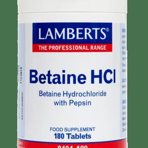 Παιδικές Βιταμίνες Lamberts – Μπεταϊνη με Πεψίνη Βοηθάει στην Καλή Λειτουργία του Εντέρου & του Πεπτικού Συστήματος 180 tabs