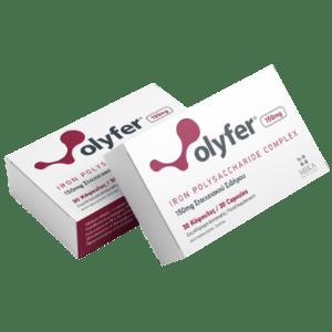 Μέταλλα - Ιχνοστοιχεία MIKA – Olyfer Iron Polysaccharide Complex 150mg Στοιχειακός Σίδηρος 1τμχ