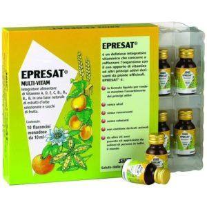 Βιταμίνες PowerHealth – Epresat Πολυβιταμινούχο Συμπλήρωμα Διατροφής Ενισχύει τη Μνήμη 10x10ml