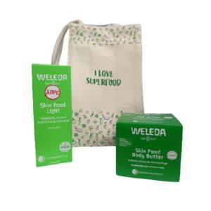 Περιποίηση Προσώπου Weleda – Promo Τσαντάκι Skin Food Body Butter Για Ενυδάτωση του Ξηρού Δέρματος 150ml και Δώρο Skin Food Light Για Κανονικό Ξηρό Δέρμα 75ml