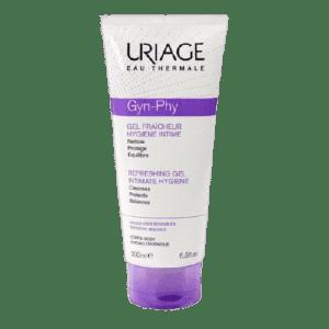 Γυναίκα Uriage – Gyn-Phy Refreshing Gel Intimate Hygiene Αναζωογονητικό Τζελ Καθαρισμού Ευαίσθητης Περιοχής 200ml