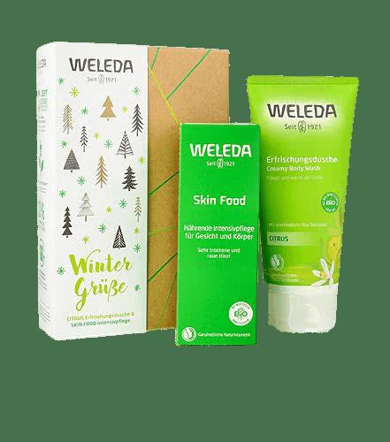 Αφρόλουτρα Weleda – Promo Xmas Skin Food με Κίτρο 2020