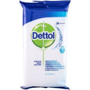 Υγεία-φαρμακείο Dettol – Cleansing Surface Wipes Απολυμαντικό 36 μαντηλάκια 1τμχ