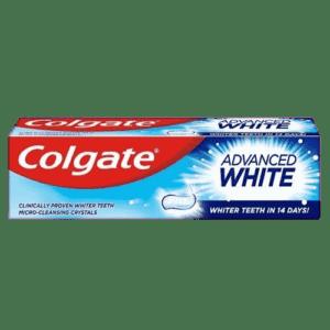 Οδοντόκρεμες-ph Colgate – Advanced White Οδοντόκρεμα για Λευκότερα Δόντια σε 14 μέρες 100ml