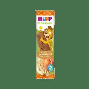 Εγκυμοσύνη - Νέα Μαμά HiPP – Μπάρα Δημιτριακών με Τραγανή Βρώμη, Μήλο και Ροδάκινο 20γρ