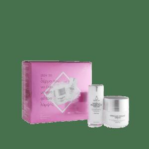 Περιποίηση Προσώπου Youth Lab – Xmas Box Wrikles Erasure Cream Κρέμα για τις Ρυτίδες 50ml & Wrikles Erasure Cream for Eyes Κρέμα για τις Ρυτίδες των Ματιών 15ml