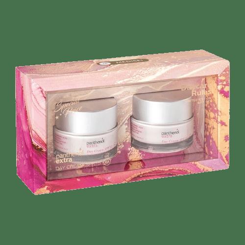 Περιποίηση Προσώπου Medisei – Promo Day Care Rules Limited Edition Panthenol Extra Day Cream SPF 15 Κρέμες Ενυδάτωσης Σύσφιξης και Λάμψης 2x50ml