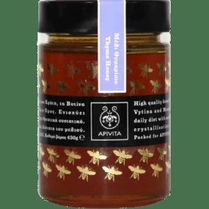 Βιταμίνες Apivita – Bee Products Ελληνικό Mέλι από την Κρήτη, τη Βυτίνα, τα Δωδεκάνησα και το Άγιο Όρος 430gr