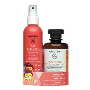 Σαμπουάν - Αφρόλουτρα Παιδικά Apivita – Promo Hydra Kids Lotion Εύκολη Εφαρμογή Δώρο KidsΣαμπουάν-Αφρόλουτρο μανταρίνι & μέλι Rinis 200ml