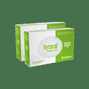 Υγεία-φαρμακείο WinMedica – Promo 1+1 Retoral Psyllium & PEG Για την Αντιμετώπιση της Δυσκοιλιότητας Περιστασιακής ή Χρόνιας 12x3g Φακελίσκοι