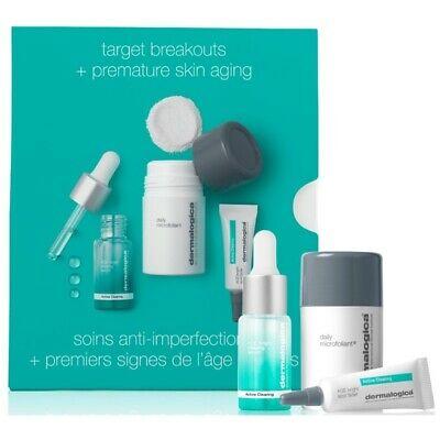Περιποίηση Προσώπου Dermalogica – Promo Target Breakouts + Premature Skin Aging Daily Microfoliant 13g and AGE Bright Spot Fader 6.0ml and AGE Bright Clearing Serum 10ml