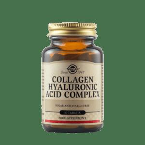 Αντιμετώπιση Solgar – Collagen Hyaluronic Acid Complex Συμπλήρωμα Διατροφής για την Καλή Υγεία των Αρθρώσεων 120mg 30 tabs