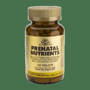 Αντιμετώπιση Solgar – Prenatal Nutrients – Πολυβιταμίνες για Έγκυες και Θηλάζουσες 120 tabs